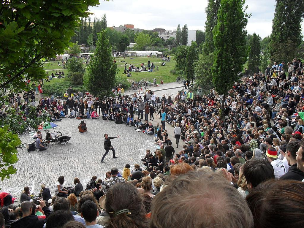 Photo Karaoké géant à Mauerpark