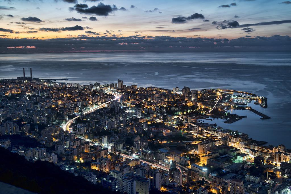 Photo La vie nocturne à Beyrouth.