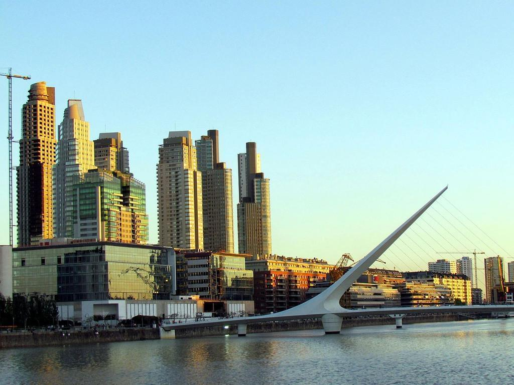 Photo Puerto Madero, un quartier très moderne d'ambition internationale