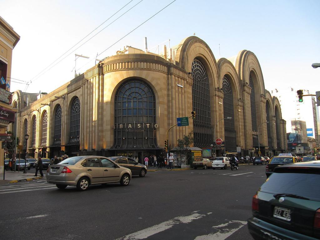 Photo Le Mercado de Abasto et son quartier : vous y trouverez de tous à des prix porteños