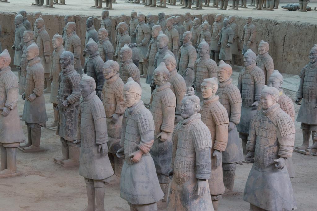 Photo Aller sur le site des guerriers en terre cuite, Xi'an