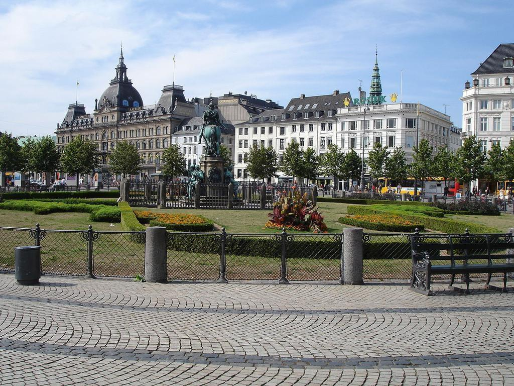 Photo Kongens Nytorv, grande place de Copenhague