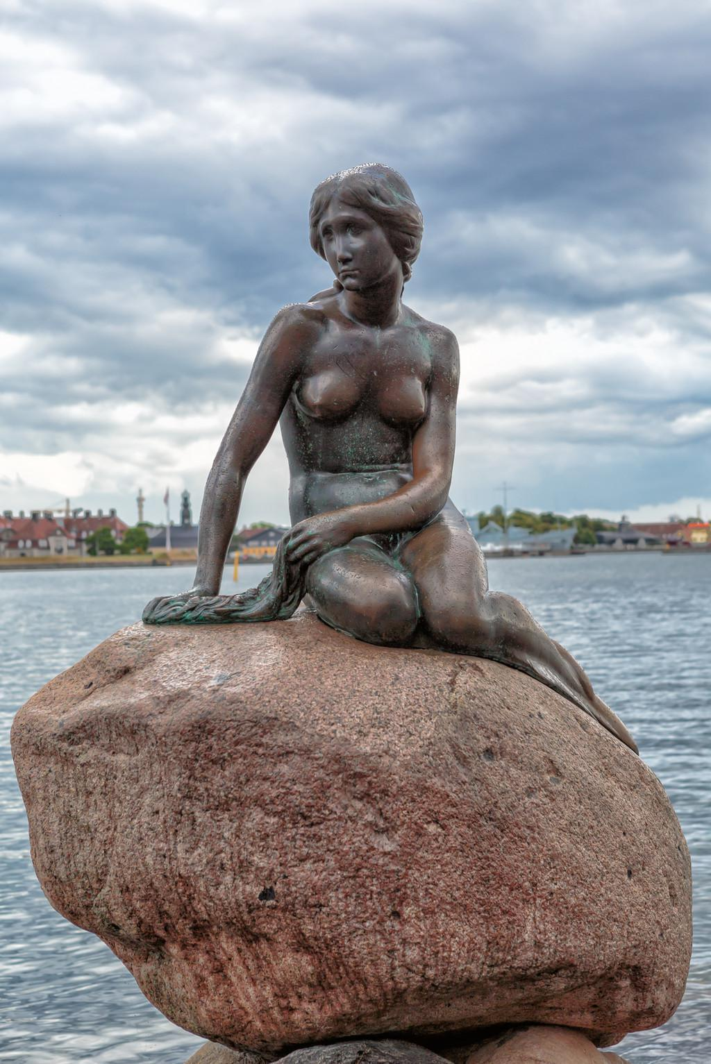 Photo La Petite Sirène (Little Mermaid) à Copenhague