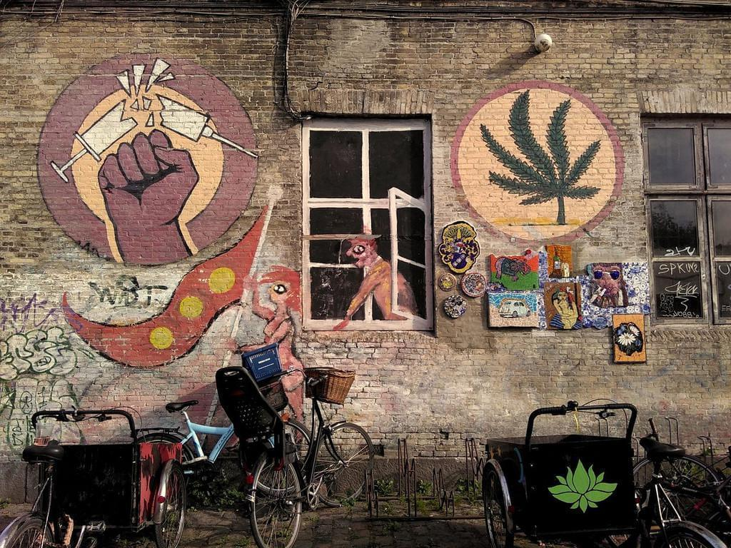Photo Visiter Christiania le jour