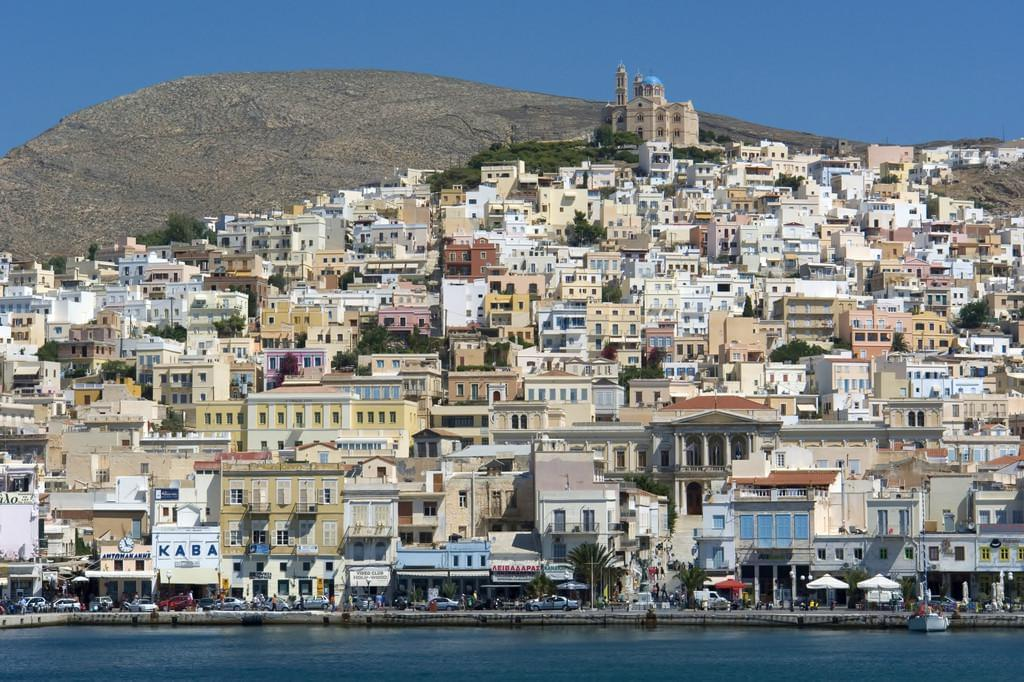 Photo Ermoúpoli, Syros, Cyclades.