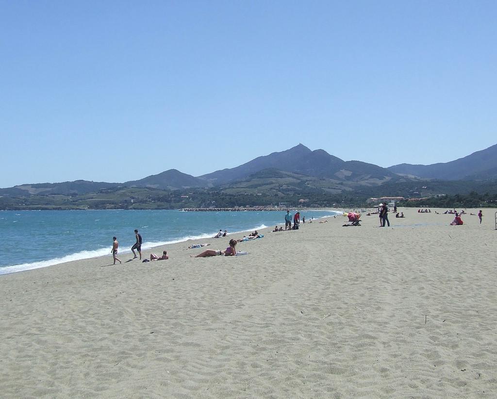 Photo La grande plage de sable d'Argelès-sur-Mer