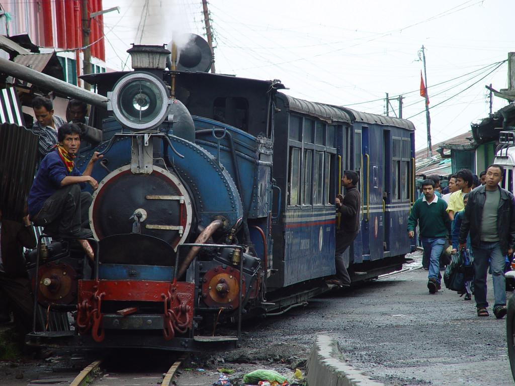 Photo Toy train du Darjeeling en Inde