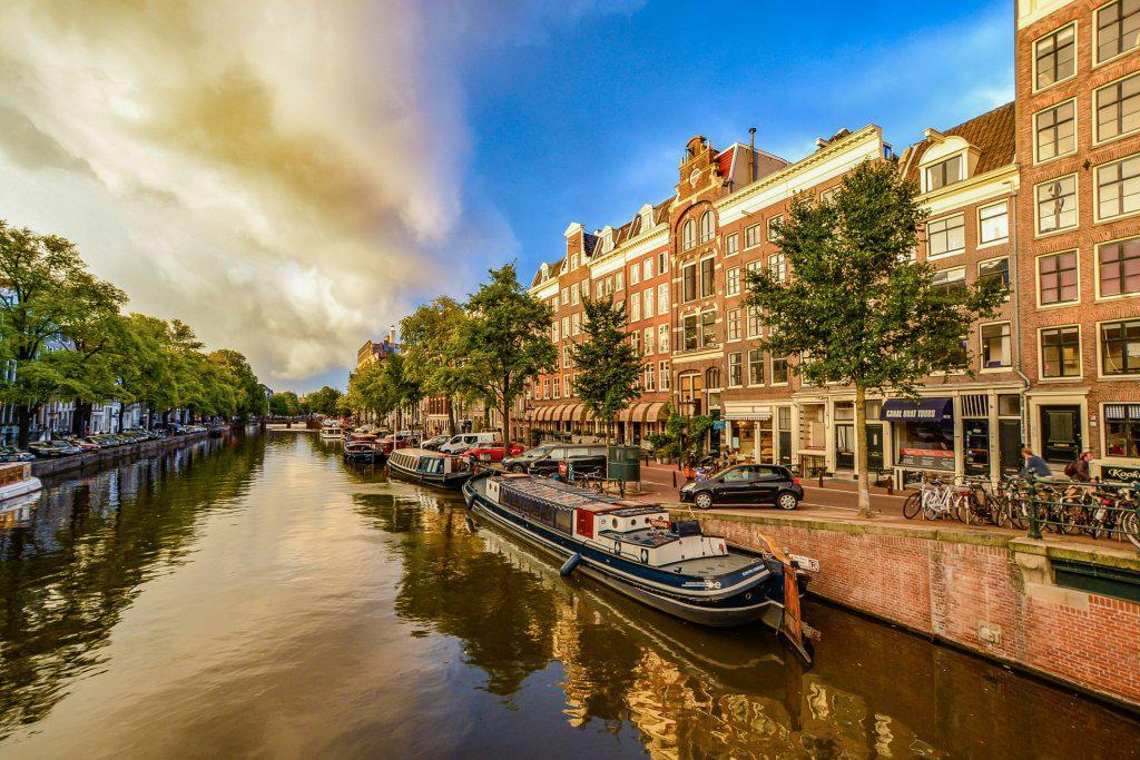 Photo Vol vers Amsterdam