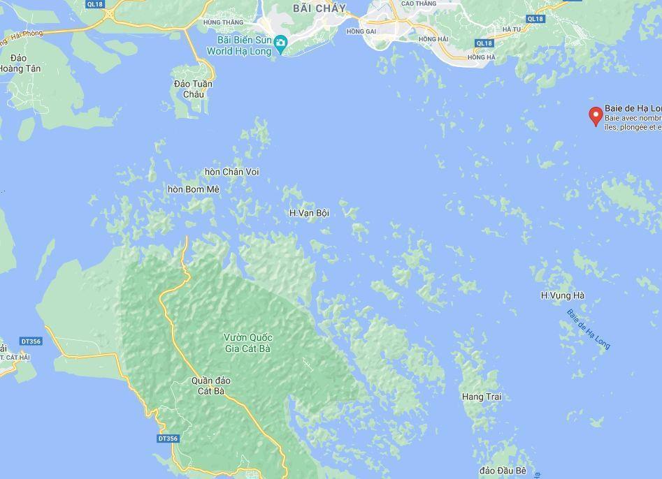 Photo Le plan détaillé de la Baie Along