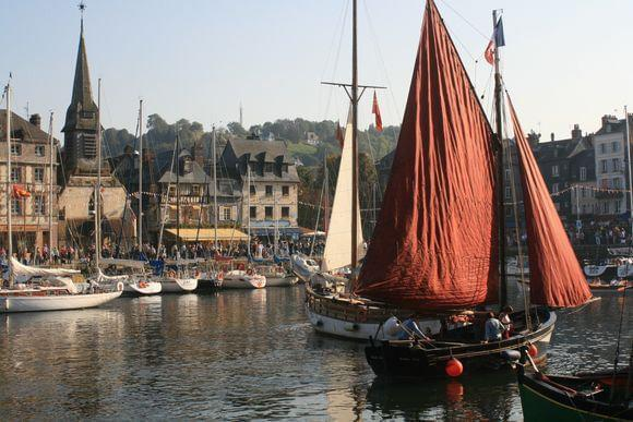 Photo Itinéraire : un long weekend à Honfleur