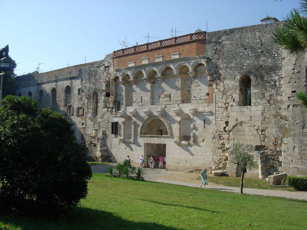 Les substructures du Palais de Dioclétien